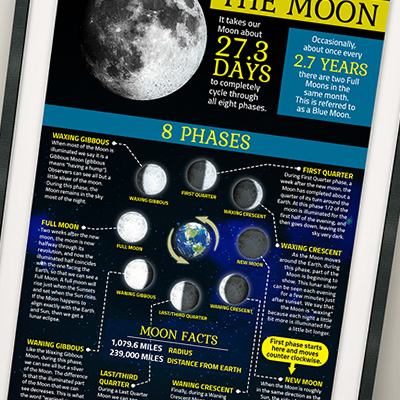 Moon Phases – Infographic – Destined Designz